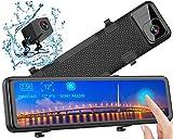 """Rückspiegel Dashcam, WiMiUS 12"""" Rückfahrkamera Streamen Medien Autokamera, 2,5K Ultra HD IPS..."""