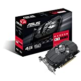 Asus PH-RX550-4G-M7 AMD Radeon Grafikkarte (AMD Radeon RX550, PCIe, 4GB GDDR5 Speicher, DVI, HDMI,...