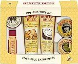 Burt's Bees Urlaubsgeschenkset, mit 6 Produkten in Reisegröße - 2 Handcremes, Fußcreme,...