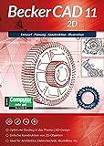 BeckerCAD 11 2D Architektur, Maschinenbau, Elektrotechnik, Modellbau CAD Programm, Software für...