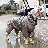 LIBOYUJU Großer Hund Vier Meter wasserdicht All-Inclusive Golden Retriever Hund Kleidung Haustier...