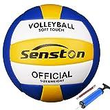 Senston Volleyball Wasserfest Beachvolleyball Weiche Berührung Beach Volleyball für Strand, Garten...