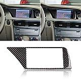 YSHtanj Auto-Navi Rahmen Aufkleber Innendekoration Autoaufkleber Carbonfaser Car Navigation Screen...