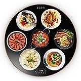 WYBD.Y Haushalt Food Insulation Board Intelligente Multifunktions-Lebensmittel-Heizplatte Temperatur...