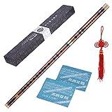 ammoon Bambusflöte, C-Dur, Dizi, steckbar, traditionell handgefertigte chinesische...
