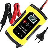 NWOUIIAY Autobatterie Ladegerät 6A/12V Batterieladegerät Auto Vollautomatisches Ladegerät mit...