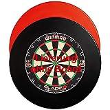 GOKarli Wandschutz Dartboard Surround Dart Catchring Auffangring für alle Dartscheiben (Schwarz)