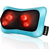 Rückenmassagegerät Geschenke für Männer, Nackenmassagegerät mit Wärme Geschenke für Frauen,...