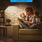 LED Stehleuchte, flimmerfreie Augenschutz Lesesteuchte, 8W, Touch Control flexible Schwanenhals...