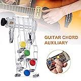 fancyU Guitar Buddy Teaching Aid, Gitarrenhilfen, Chord Buddy Guitar Learning System,...