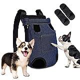 Hunderucksack, SUPERNIGHT Tragetasche Hund, Hunderucksack bis 10 kg,hunderucksack für kleine...