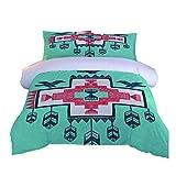 HLLIZ Bettwäsche Set, Laterne Bettwäsche Set 3-Teiliges Polyester Mit, Reißverschluss 1 Bettbezug...