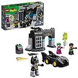 LEGO 10919 DUPLO DC Batman Bathöhle mit Batmobil und JOKER Autospielzeug für Kleinkinder ab 2...