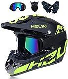 Motorradhelm Motocross Helm,Motorradhelm Cross Helme Schutzhelm Motocross Helm Für Motorrad...