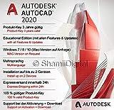 Autodesk AutoCAD 2020 | Digitale Software-Lizenz / 1 Jahre | Windows (nur 64-bit) | Expressversand...
