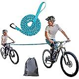 Settoo 1.7m Kinder Fahrrad Abschleppseil, Eltern Kind MTB Reflektierende Traktionsseil mit...