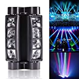 U`King Spider Moving Head Licht DMX512 lichttechnik mit 8x3W RGBW 4 Farbe LED Lampe fr DJ Disco...