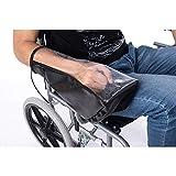 QEES JJZ161 Elektro-Rollstuhl-Zubehör, wasserdichte Power Rollstuhl-Arm-Joystick-Abdeckung,...