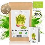 MAISON NATURELLE ® BIO Gerstengras Pulver (500 g) - 100% reines Bio Gerstengras Pulver ohne...