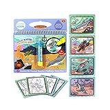 Runme Magic Water Zeichnung Malbuch für Kinder Geburtstags-Geschenk-Gekritzel-Feder-Anstrich Brett...