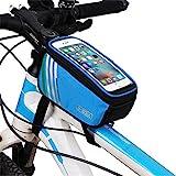 Yhjkvl Fahrrad Rahmentasche Heck Gepäcktasche Fahrradtasche Fahrradsatteltasche Regengeschützte...