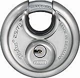 ABUS Diskus® Vorhängeschloss 25/70 mit 360° Rundumschutz - inkl. 5 Schlüssel - mit präzisem...