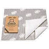 Kitchen Helpis® Dunstabzug-Flachfilter, 2 Stück, Flachfilter für Dunstabzugshauben, 57x54 cm, 1...