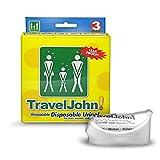 TRAVEL JOHN Wegwerf Urinal 3 Stck