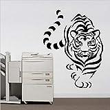 BailongXiao Einzigen Tiger Tier Kombination wandaufkleber Schlafzimmer wandaufkleber Dekoration...