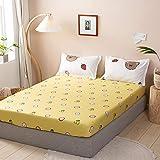 Bolo Bedding Extra Tiefe Spannbettlaken für hohe Matratzen, seidig weich, doppelt gebürstete...