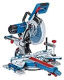 Bosch Professional Paneelsäge GCM 350-254 (1.800 Watt, inkl. 1x Kreissägeblatt Holz, Klemmschelle,...