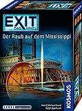 KOSMOS 691721 EXIT - Das Spiel - Der Raub auf dem Mississippi, Level: Fortgeschrittene, Escape Room...