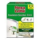 Nexa Lotte Insektenschutz 3-in-1 Starterpackung, Mückenstecker, Elektroverdampfer gegen fliegende...