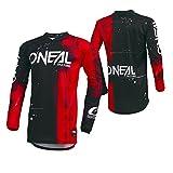 O'Neal Element Shred FR Youth Kinder Jersey Trikot lang rot/schwarz 2019 Oneal: Größe: L...
