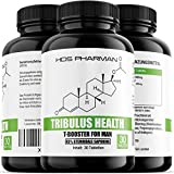 Tribulus Health 45% steroidale Saponine | Burzeldorn Testosteron-Booster mit Blocker