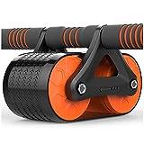 Fitness-Rad für Bauchmuskeln, Rebound Fitness-Rad, für Männer und Frauen, Sport-Rolle,...