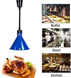 LCNING Einstellbare Wrmelampe Buffet Galvani Lampshade Teleskoppendelleuchte for Pizza (Farbe : 1)