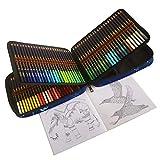 Professionelle Buntstifte Set - 120 Buntstifte Kunst-Set mit weiche Farbmine, vorgespitzt,...