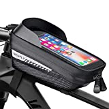 NEUFLY Fahrrad Rahmentasche, Fahrrad Handyhalterung Wasserdicht Super Empfindlicher Touchscreen mit...