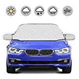 HOKEKI Car Windscreen Cover Snow Cover Magnetic Screen Cover Windshield Snow Protector Sunshade Ice...
