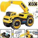 COOLJOY Montage Spielzeug, Elektrisch Multifunktionale Konstruktion Auto LKW, DIY Engineering...