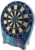 Crivit LED Dartscheibe, mit Zubehör 27 Spiele Dart Set 4 LED-Displays