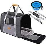 morpilot Katzentragetasche Hundetragetasche, Atmungsaktive Hundetasche Transportbox für Katze und...