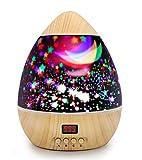 Sternenprojektor/Nachtlicht für Kinder, Kinderzimmer, Baby, mit einem Timer für 5-995 Minuten,...