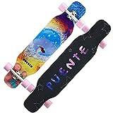 jinda Longboard Skateboard Allrad Dance Board Roller Kindliches Mädchen