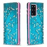 Miagon Brieftasche Hülle für Samsung Galaxy Note 20 Ultra,Kreativ Gemalt Handytasche Case PU Leder...