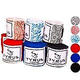 TYRUS Fighting Boxbandagen für Kampfsport   Elastische Hand Bandagen für Boxen, MMA, Kickboxen,...