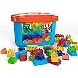 Mega Bloks GJD21 Mini Bausteinebox mit 100 Teilen, Box mit Bausteinen für Kinder, Spielzeug ab 2...