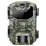 Victure Wildkamera 20MP 1080P Full HD Leichtes Glühen Infrarot Nachtsicht Bewegungsmelder und...