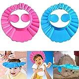 Einstellbare Baby Duschhaube, Duschhaube Baby, Baby Shampoo Schutz, Kinder Shampoo Kappe,...